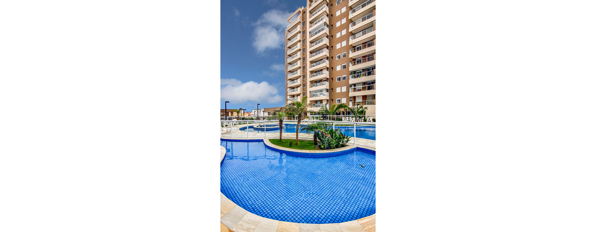 Piscina Resort Itanhaém Condomínio Clube
