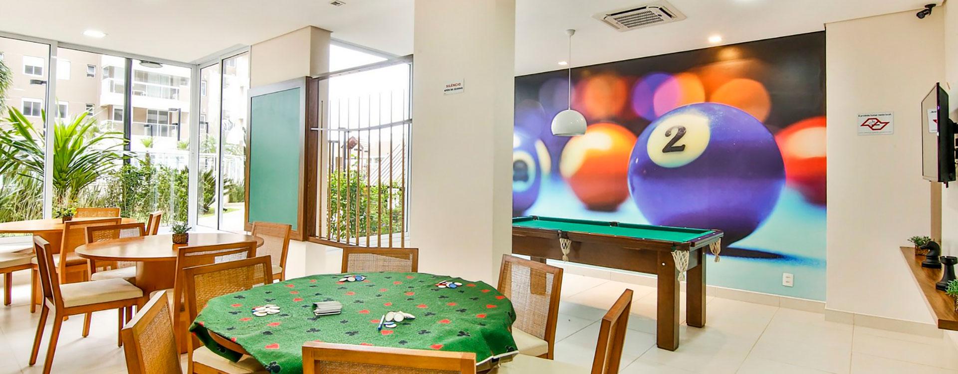 Salão de Jogos Resort Itanhaém Condomínio Clube