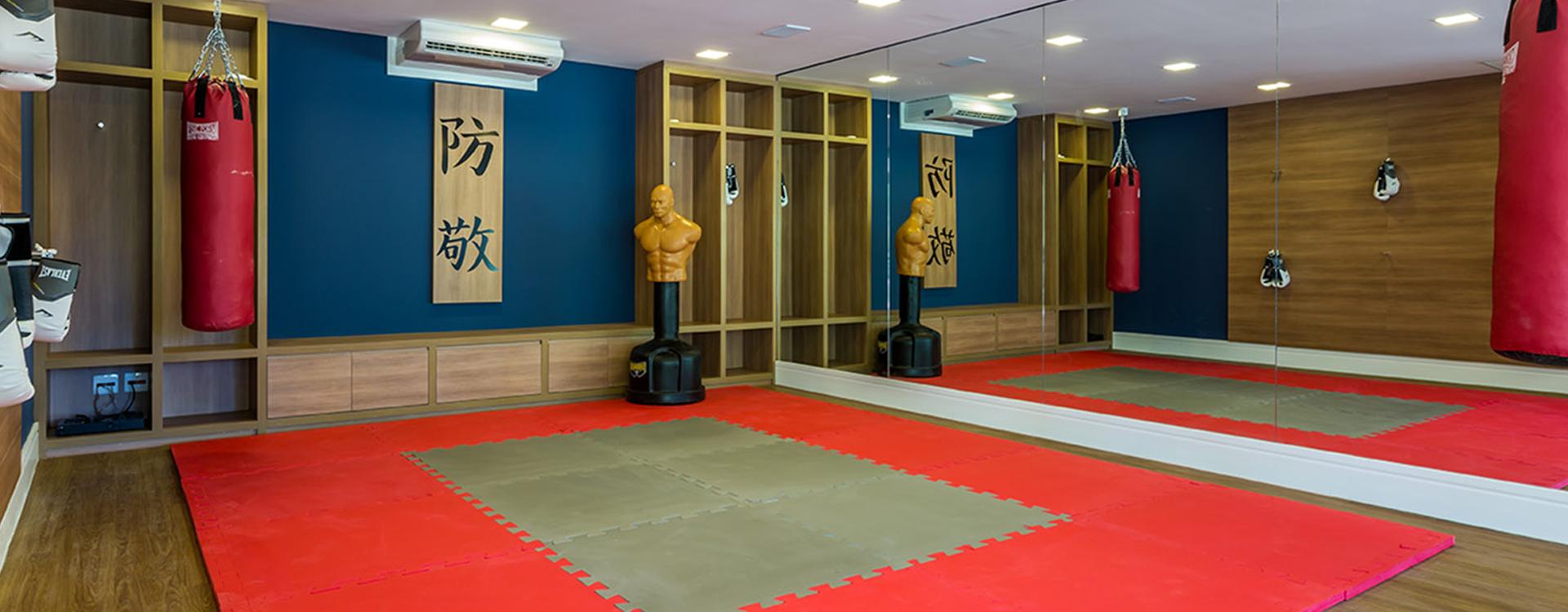 Sala de Artes Marciais Boulevard Tamboré