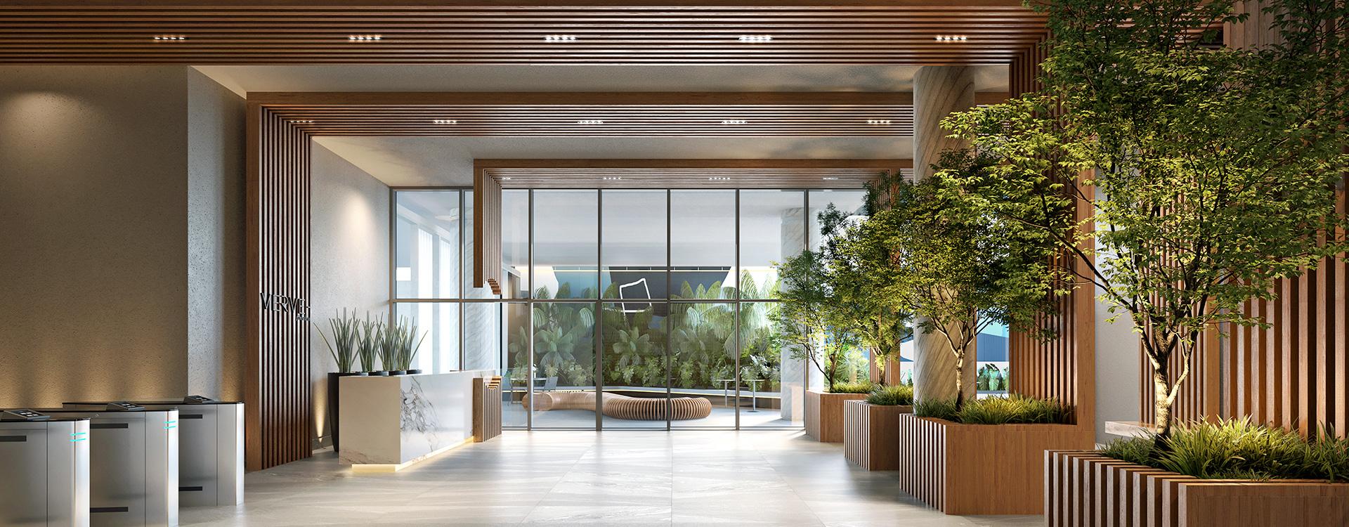 Lobby Comercial Verve